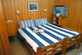 Conifer Lodge Double Bedroom