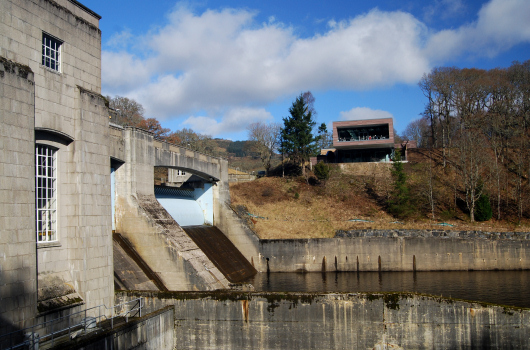 Dam and Fishladder, Pitlochry, Perthshire, Scotland